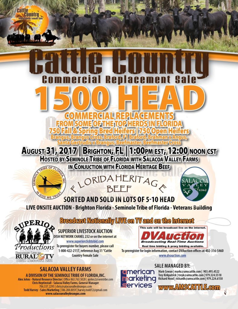 Cattle Country 1500 Commercial Replacement Sale